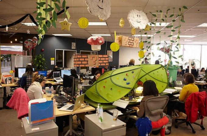 Creative Office Spaces Breed Productivity