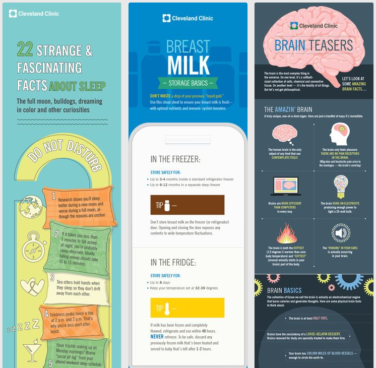 visual marketing in health care